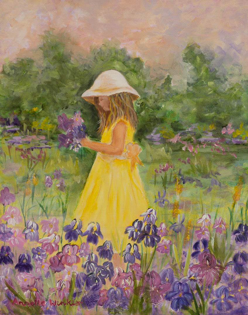 Little girl Iris